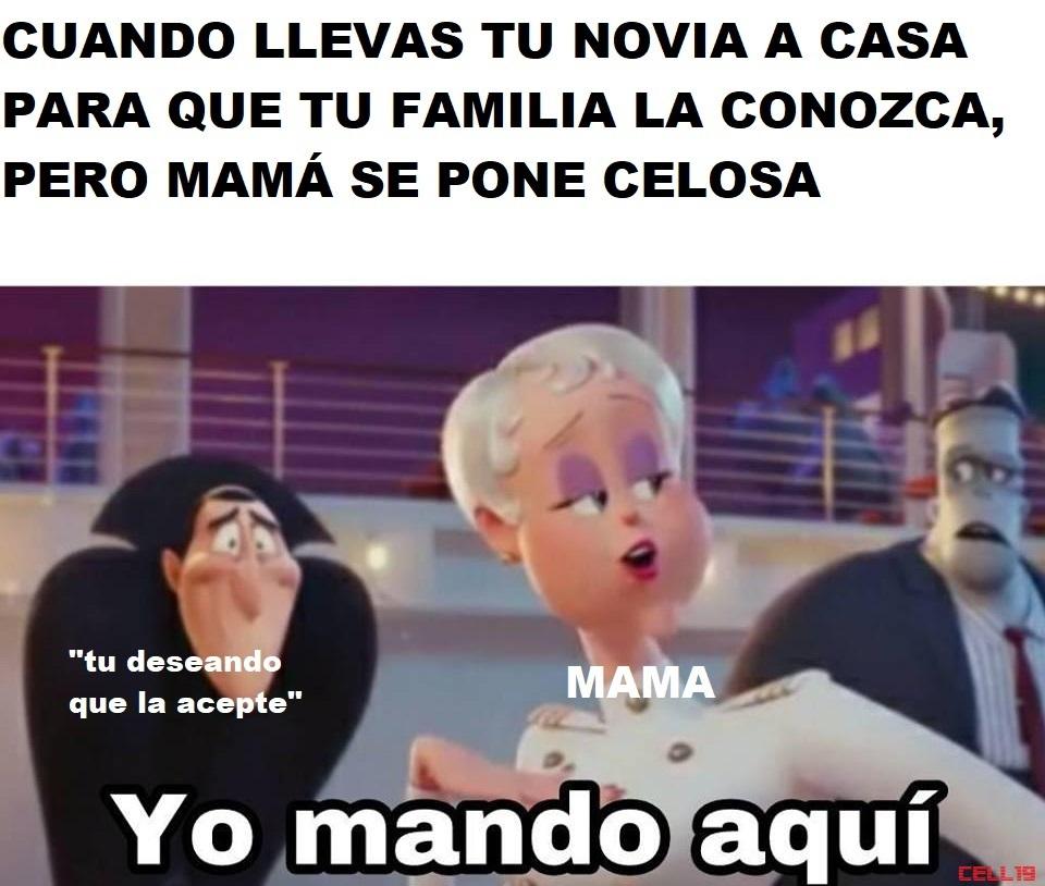 Mama es la reina - meme