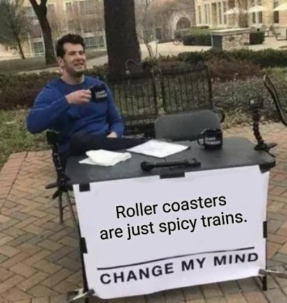 Favorite spicy train? - meme