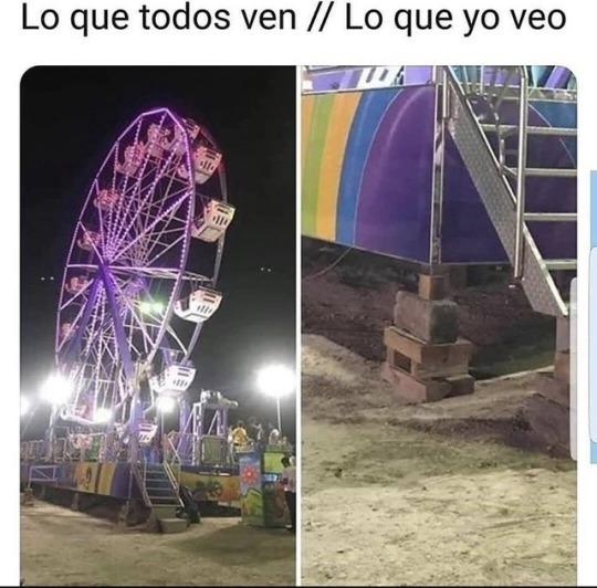 NO ME GUSTAN LOS JUEGOS MECÁNICOS :S - meme