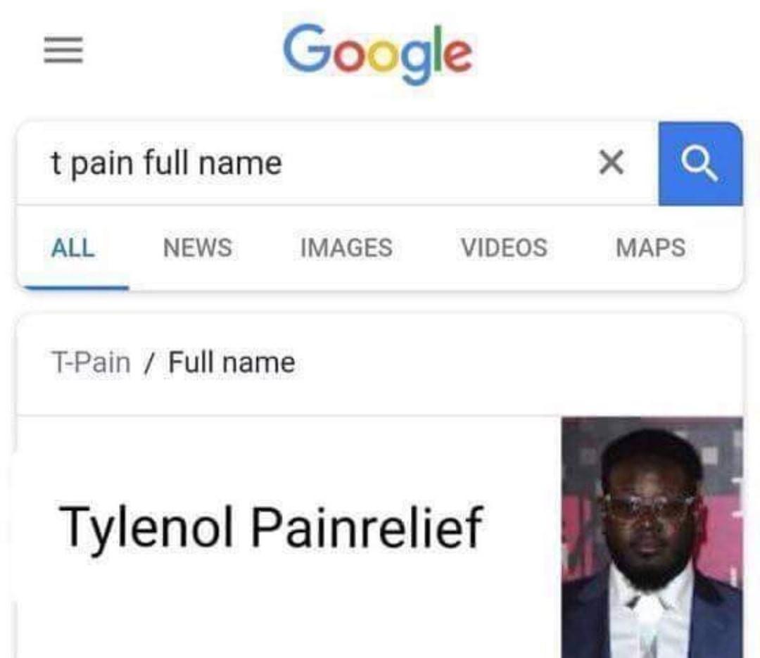I'm in pain - meme