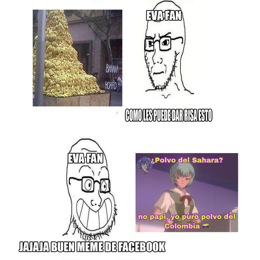 Evangelion fans be like - meme
