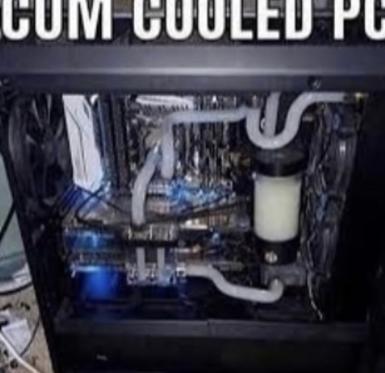 La mejor refrigeracion liquida (rapida y gratis) - meme