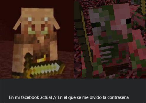 Un meme de minecraft muriendo :(
