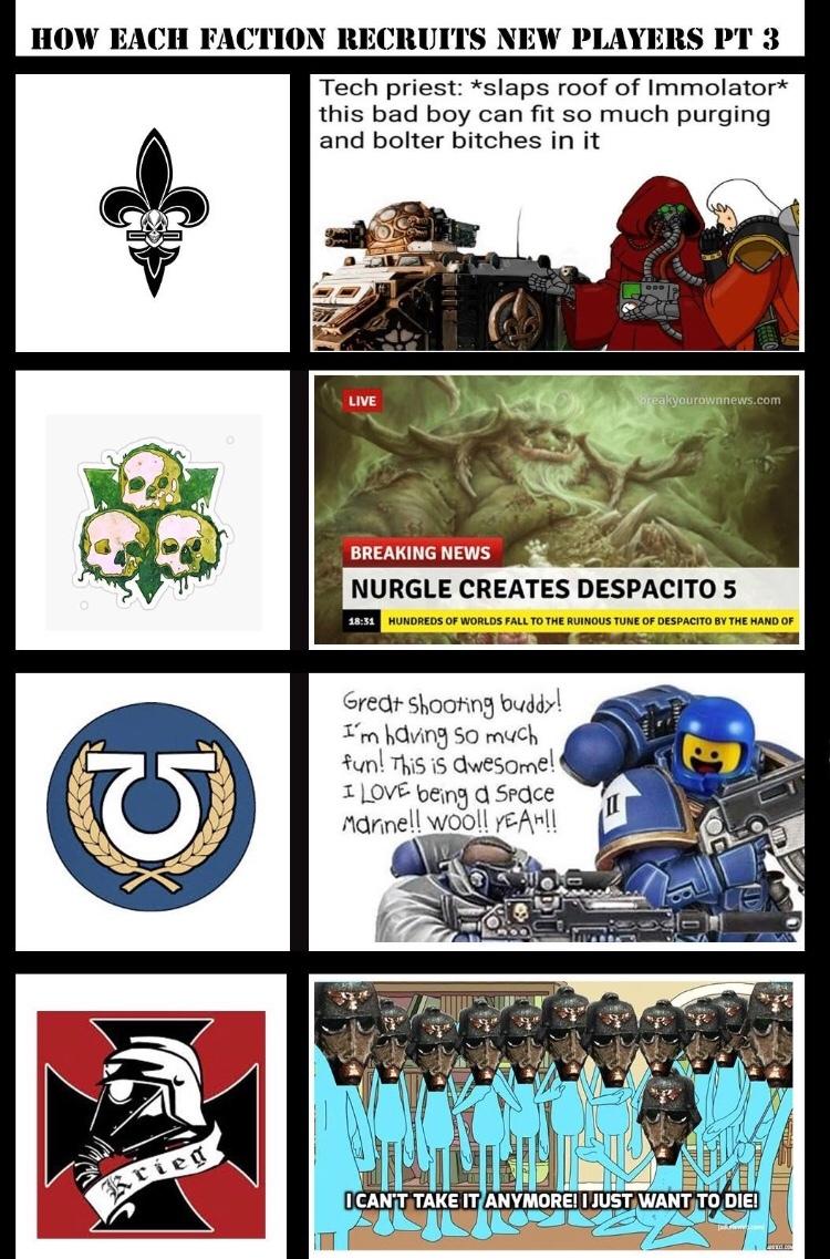 Warhammer will always be the best - meme