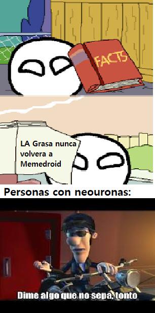 La Grasa Es Asquerosa - meme