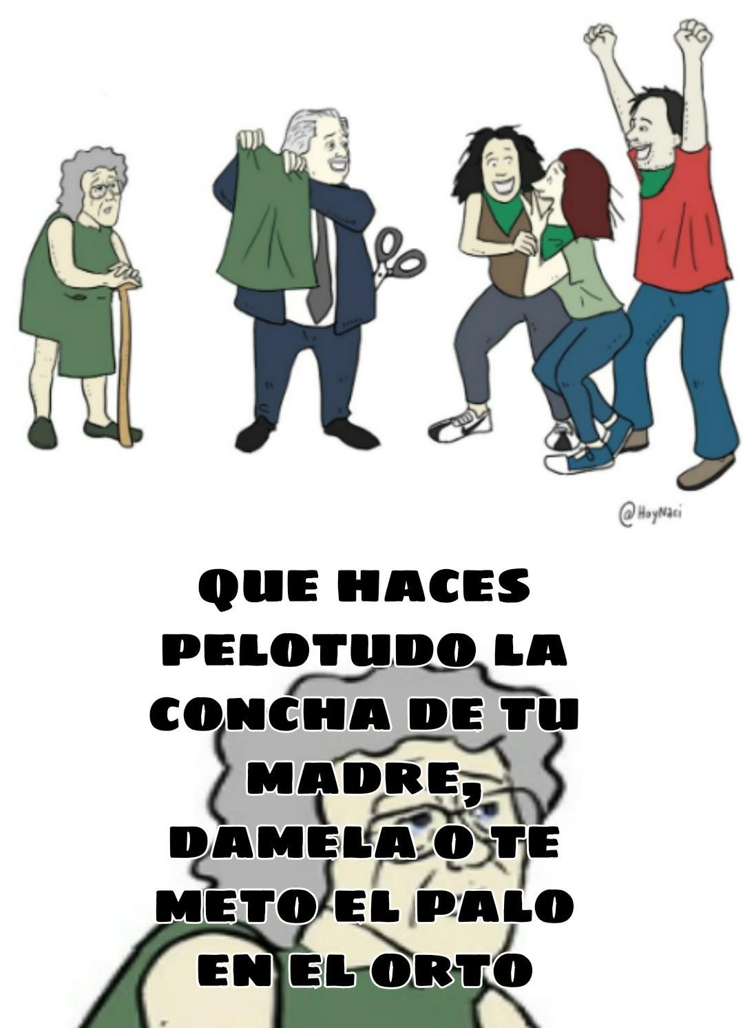 Alberto Fernandez y los super amigos - meme