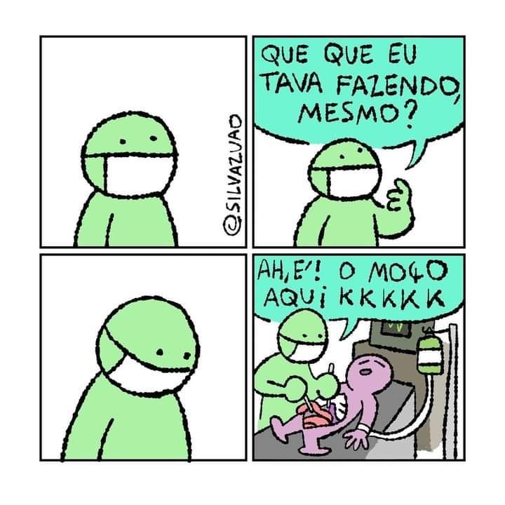 O moço - meme
