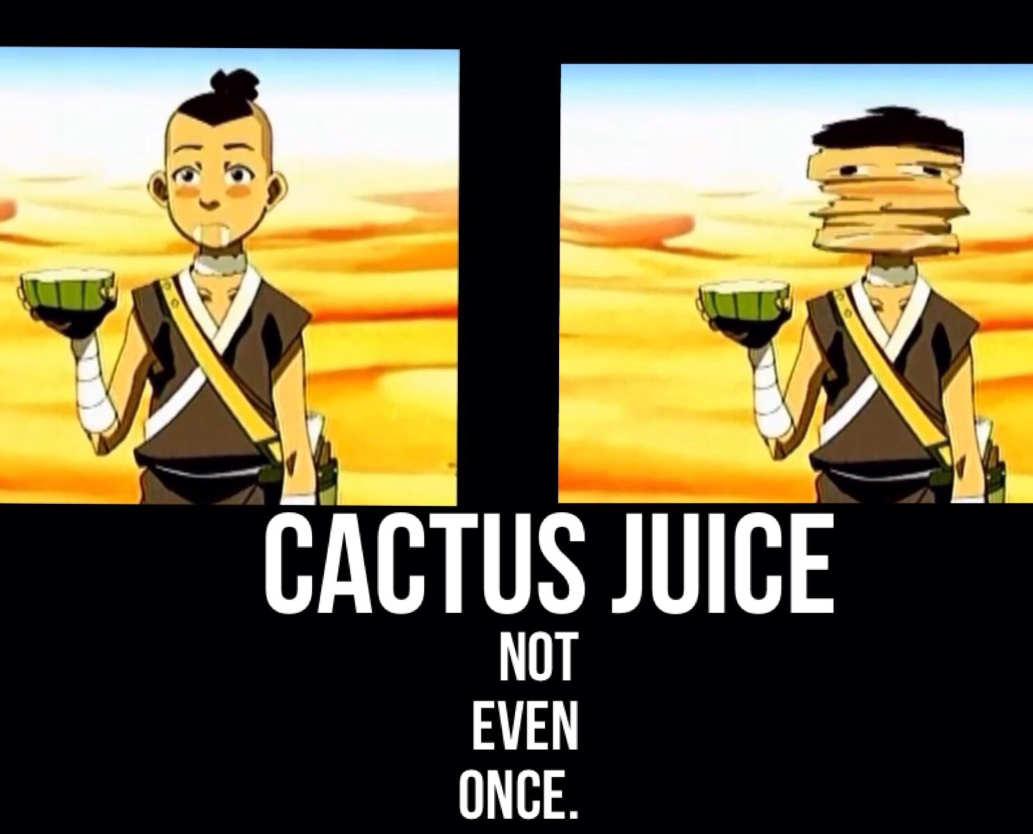 Avatar CACTUS JUICE - meme