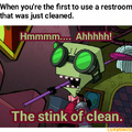 Don't you just love that fresh stink smell