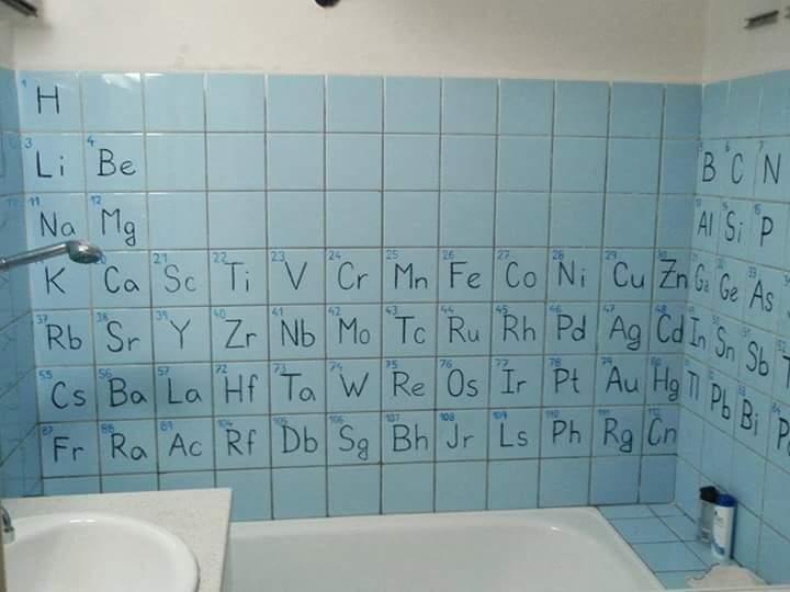 Baño quimico - meme