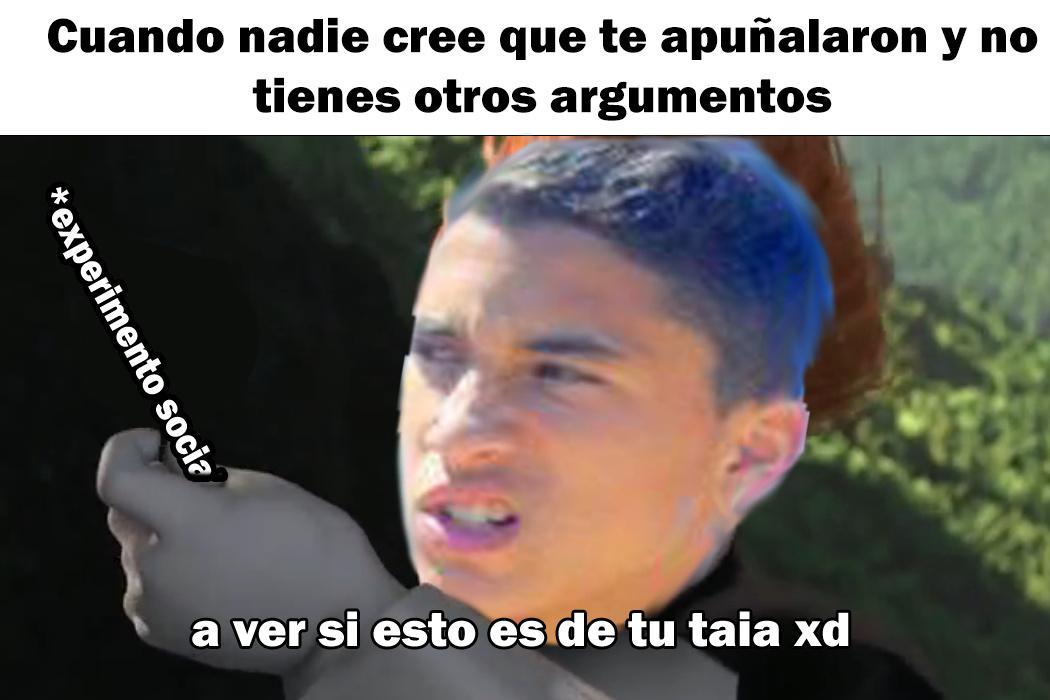 EXPERIMENTO SOCIAL :V - meme