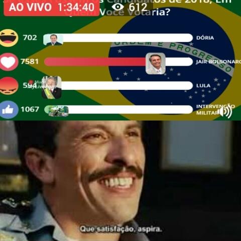 #Bolsonaro2018 - meme