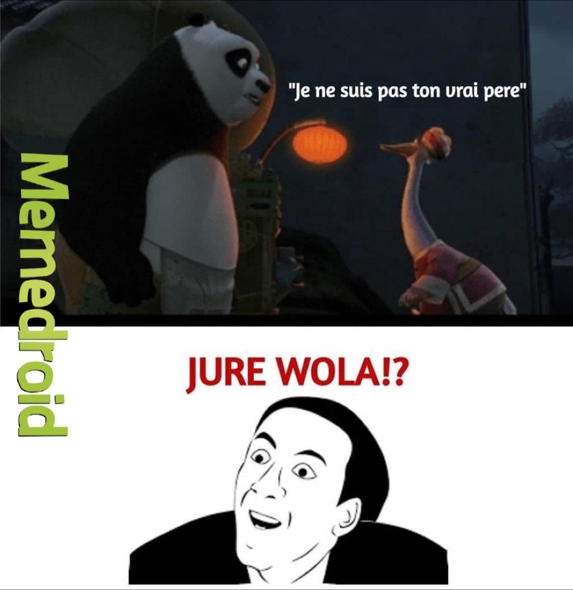 je jure wola - meme