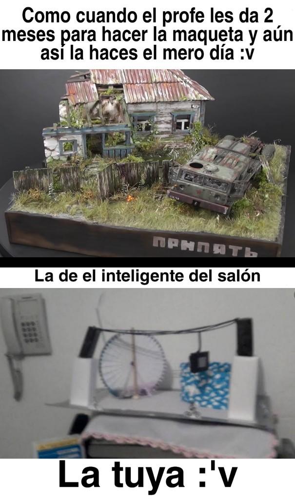 Maquetas - meme