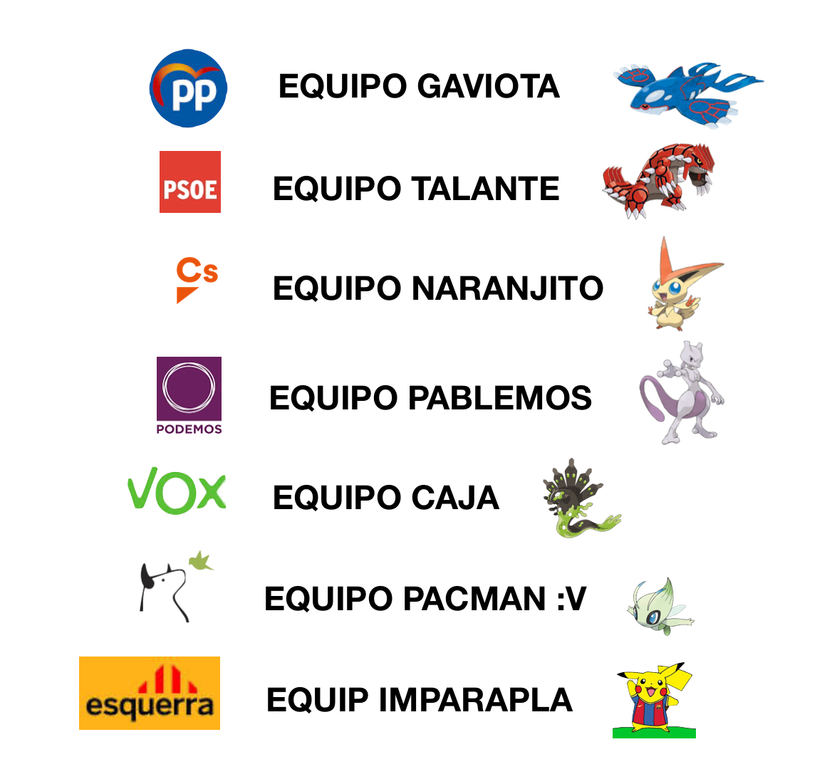 Pokemon Iberia 2.0. - meme