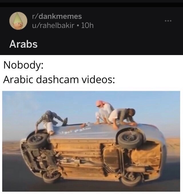 Arabs - meme