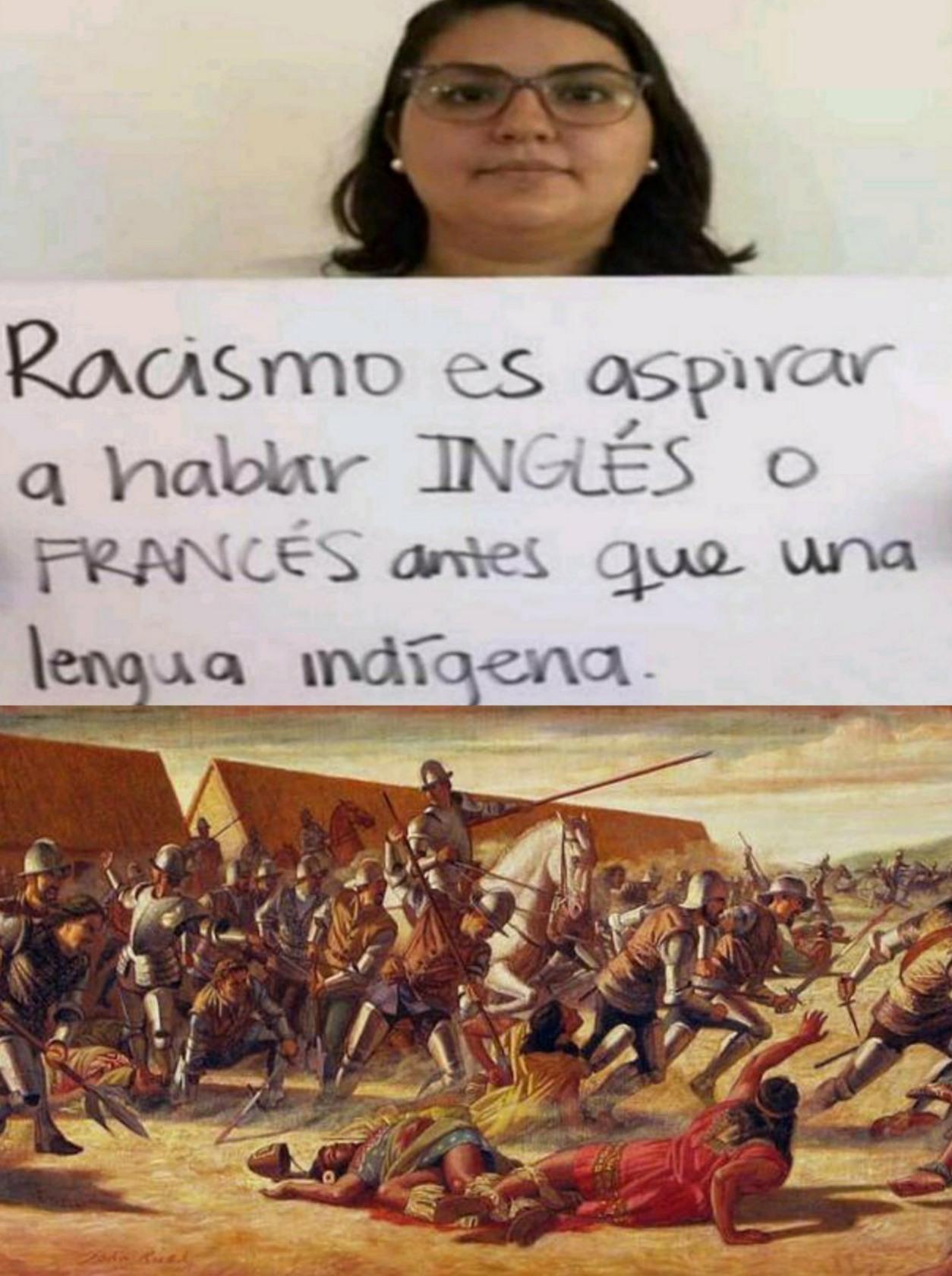 La conquista del Peru - meme