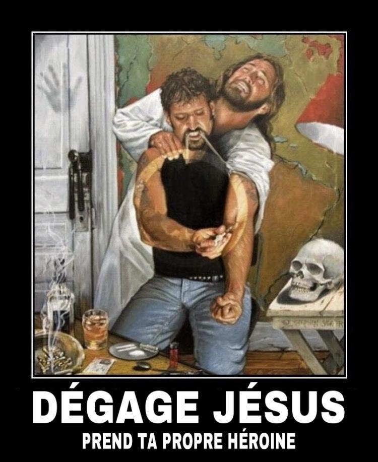 jesus pete les couilles - meme
