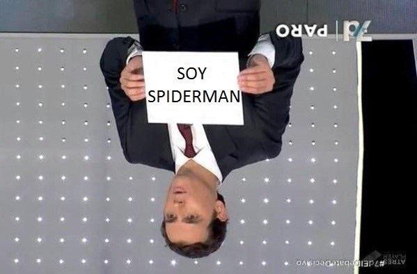 Soy spiderman - meme