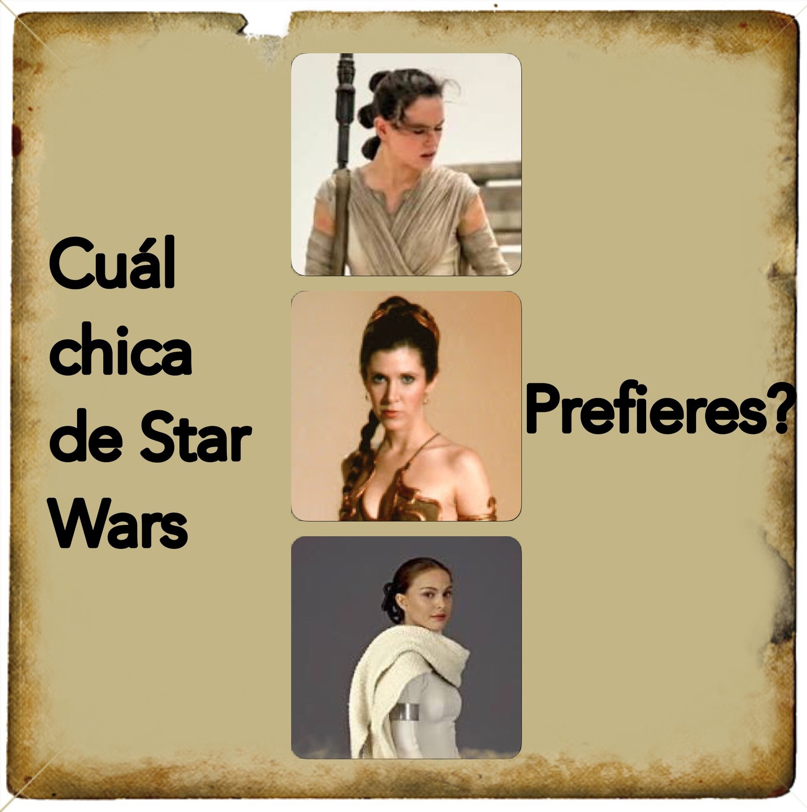 chicas star wars - meme