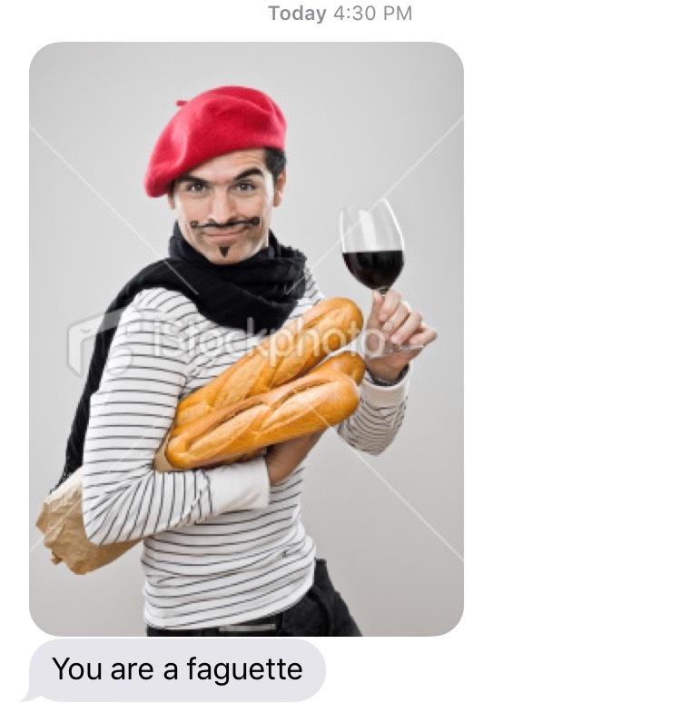 Faguette - meme