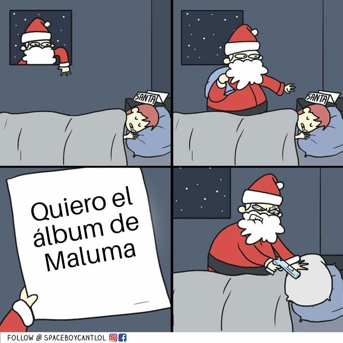 Maluma xd - meme
