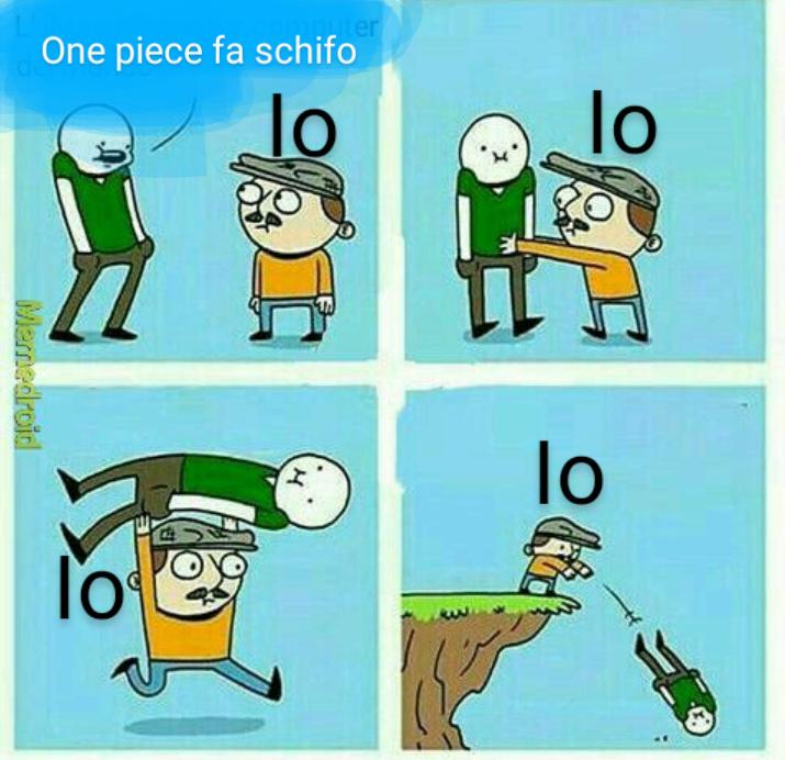 One Piece tutta la vita - meme