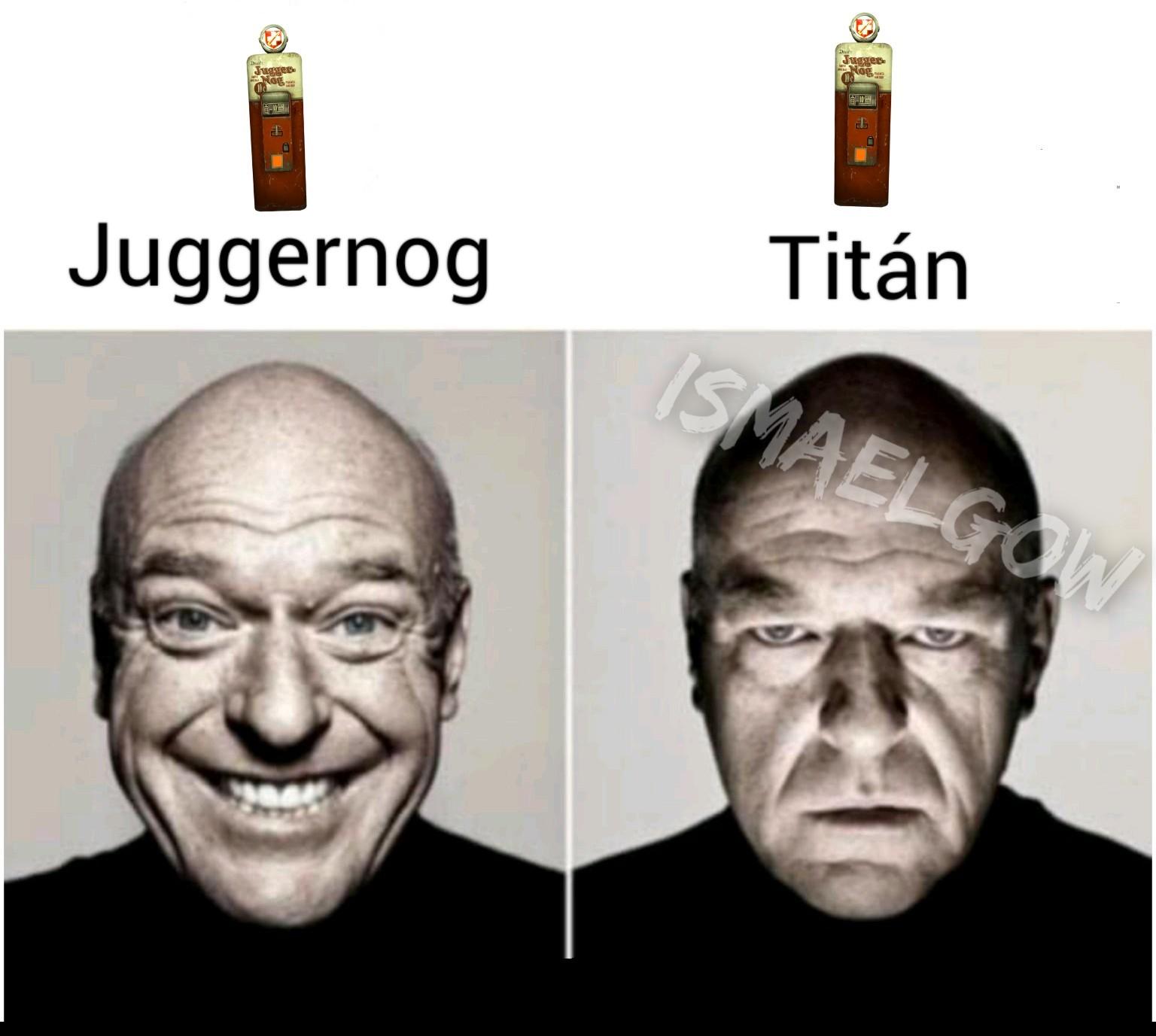 Juggernog. - meme