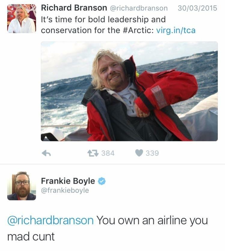 Frankie Boyle - meme
