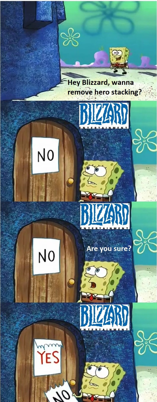 Blizzard's response to Overwatch fan feedback - meme