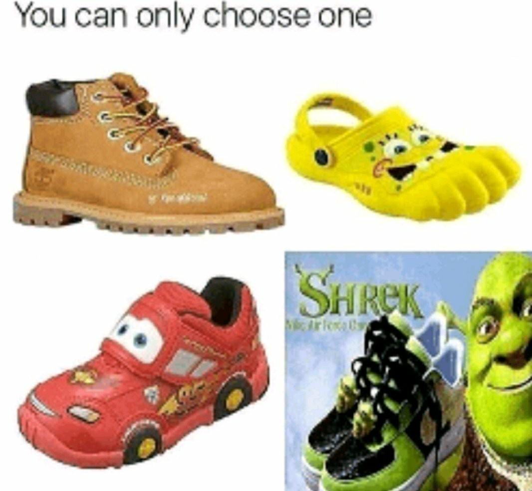 Choices Choices - meme