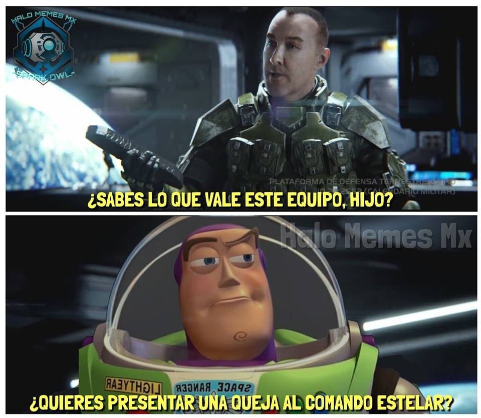 HALO 2 x Toy Story 4 - meme