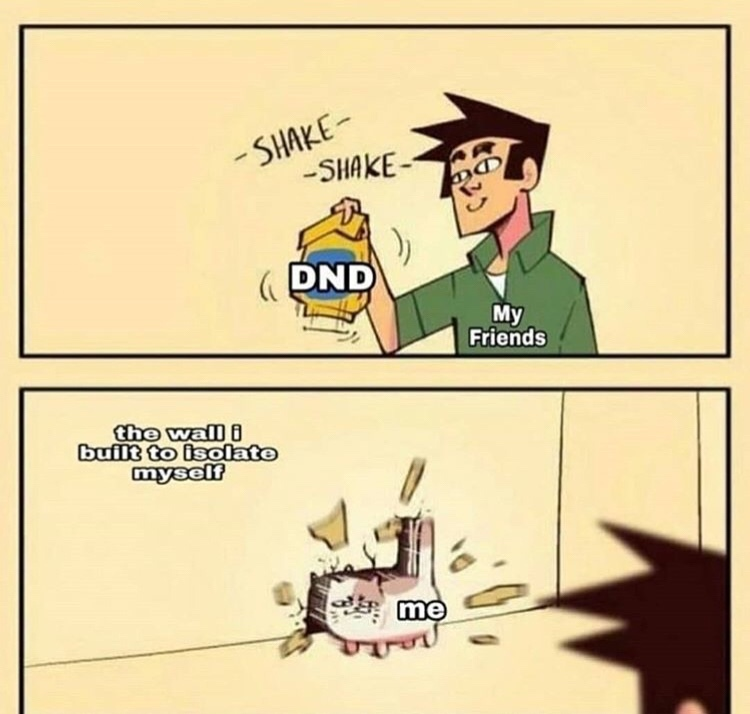 DND night is coming soon and I haven't been DM before, any tips? - meme