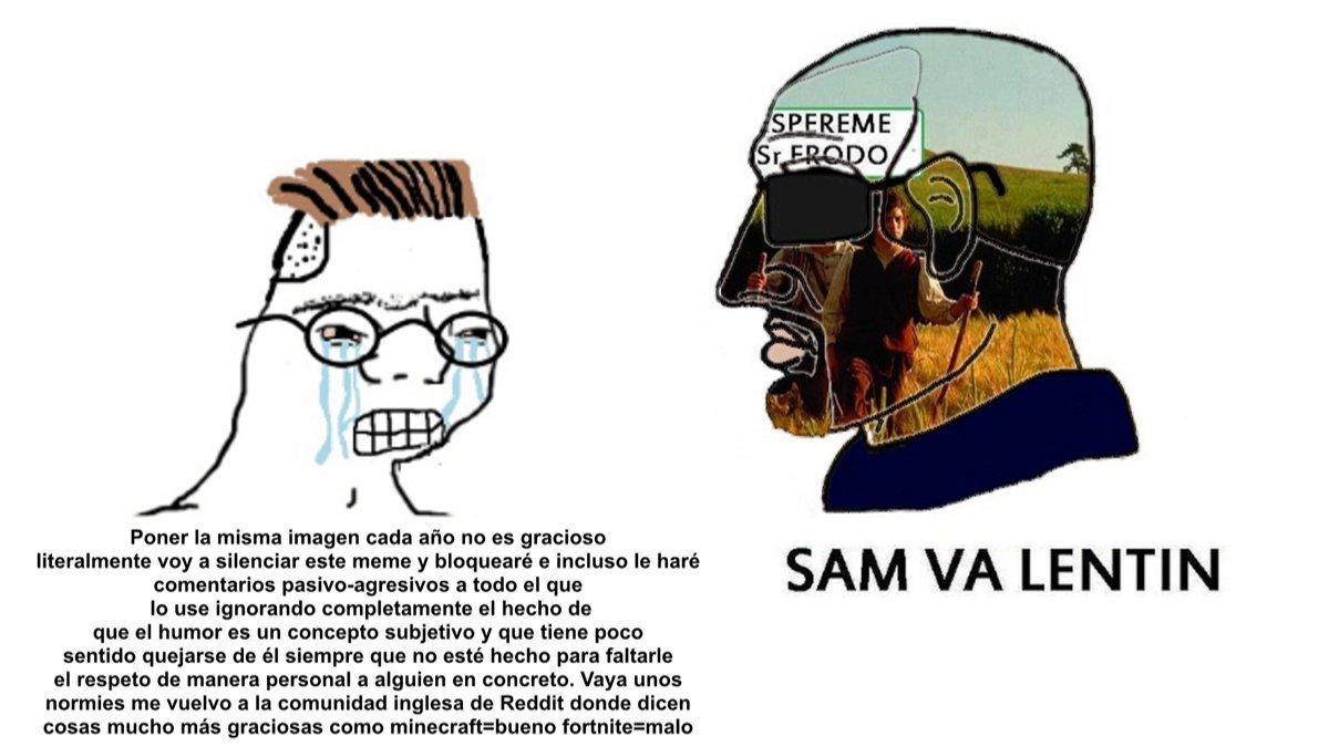 SAM VA LENTIN - meme