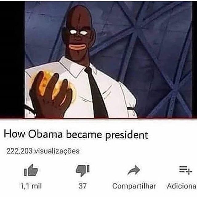 Dongz in a president - meme
