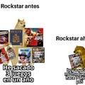 El mismo juego pa ps3 ps4 y ps5, en serio rockstar?