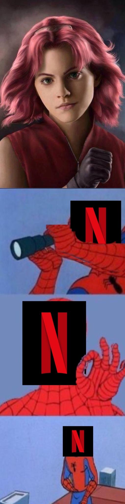 Netflix y sus problemas con los Live-Action - meme