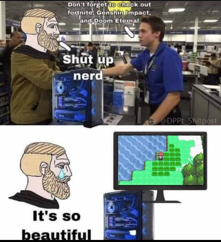 it's so beautiful - meme