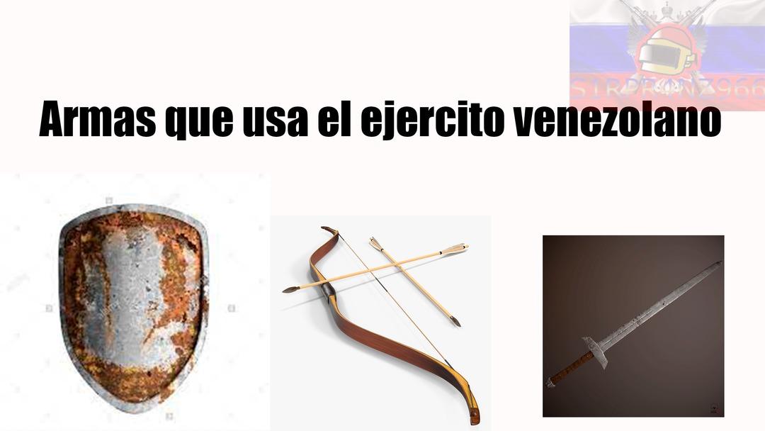Por si no saben los venezolanos son esqueletos - meme