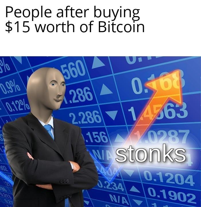 The Bitcoin... - meme