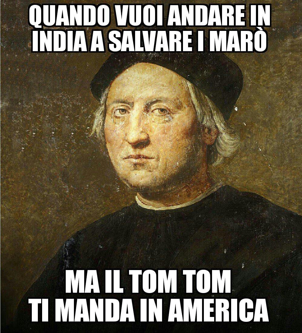 povero Colombo - meme