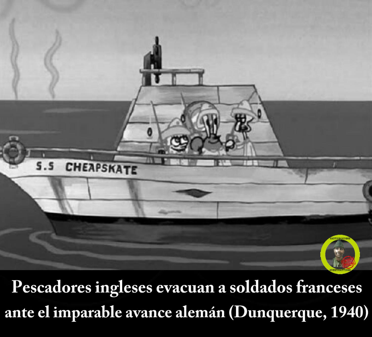 Operación Dinamo - meme