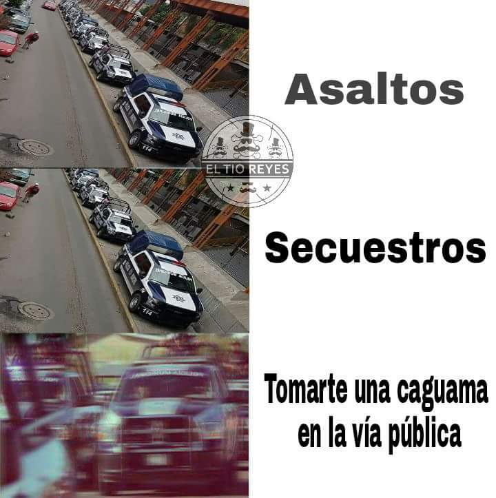 Solo en México - meme