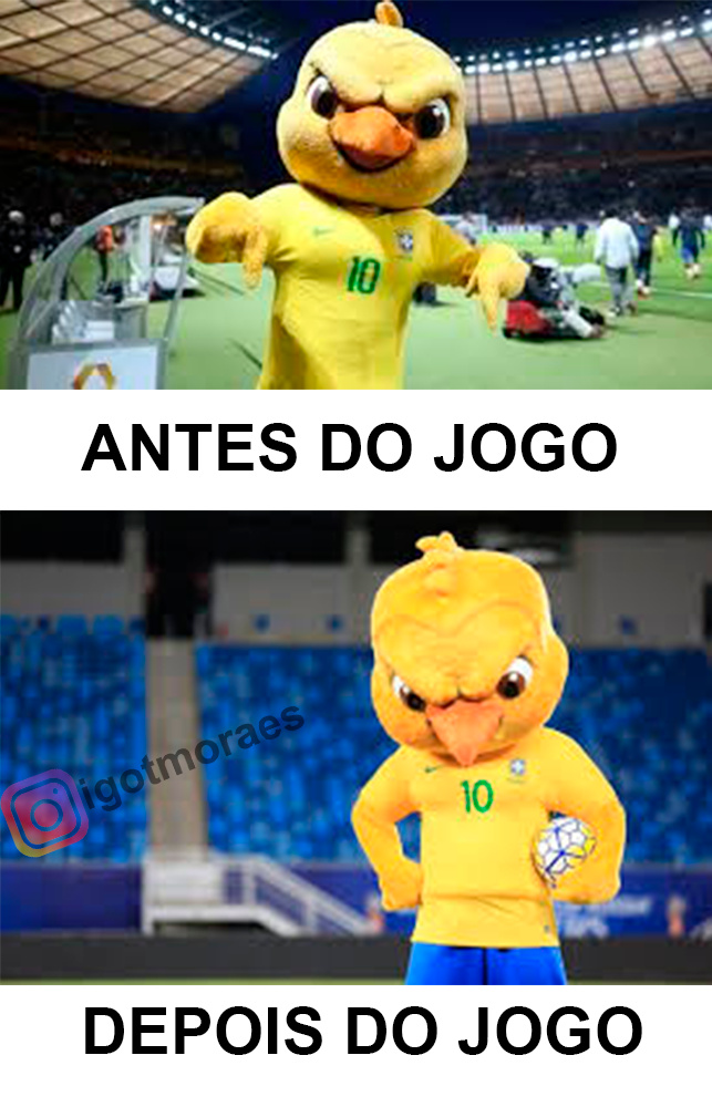 BRASIL SEM HEXA - meme