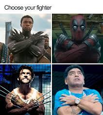 Deadpool would last longer tho... - meme