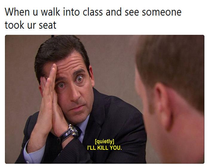 That's my seat - meme