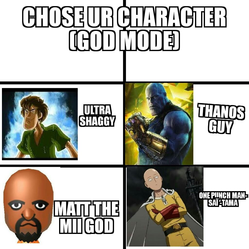 Who u gonna choose ? - meme