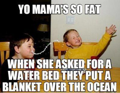 Yo Mama so fat - meme