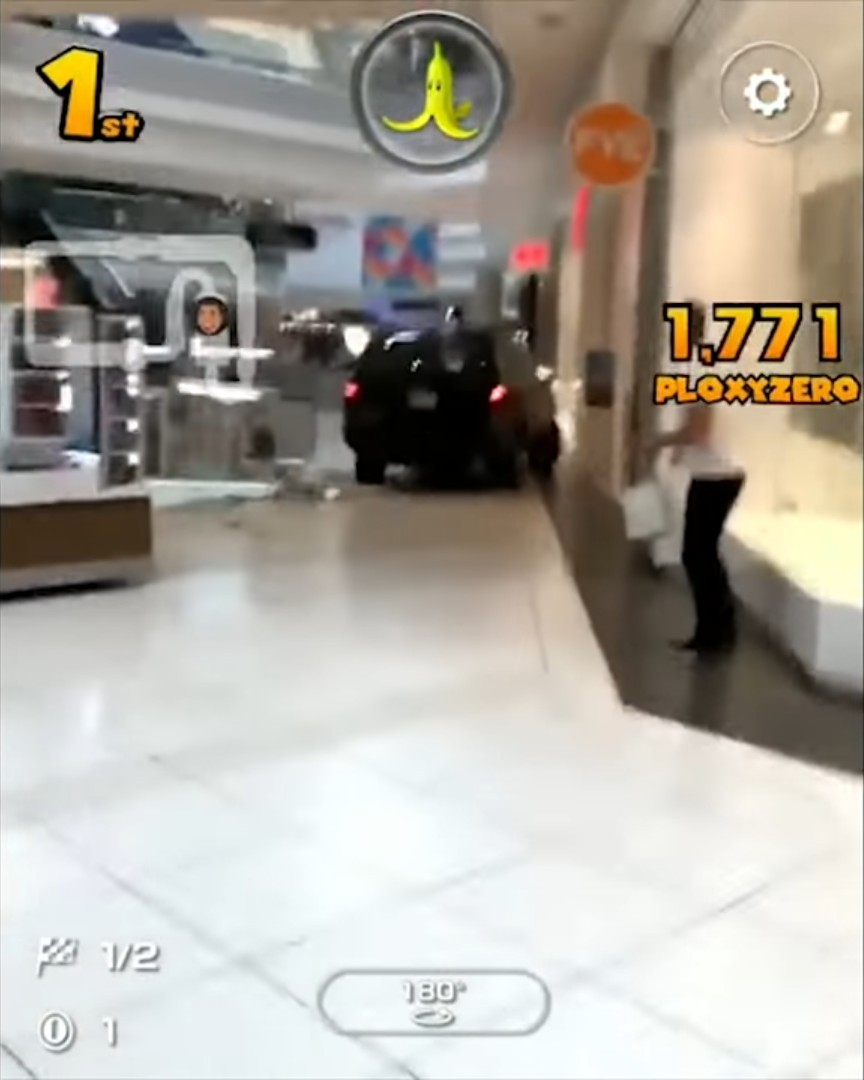 Mario Kart Tour( ͡°͜ʖ ͡°)┌∩┐ - meme