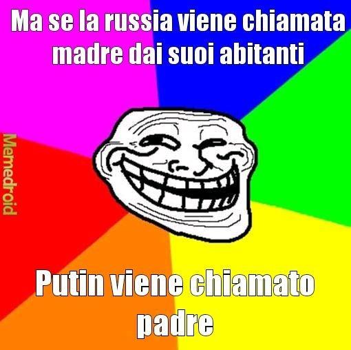 Riflessioni sui russi - meme